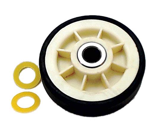 Rueda guía de tambor para diversos modelos de secadoras Maytag.