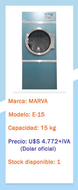Secadora E-15 Outlet