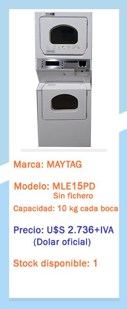 Secadora doble MLE15PD
