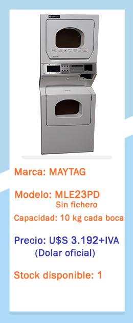 Secadora doble MLE23PD