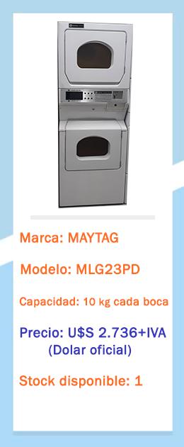 Secadora doble MLG23PD